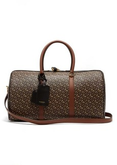 Burberry TB-monogram coated-canvas holdall