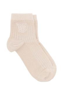 Burberry TB ribbed cotton-blend socks