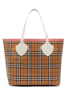 Burberry The Giant medium reversible cotton tote bag