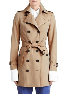 Burberry The Sandringham - Mid-Length Slim Fit Heritage Trench Coat