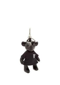 Burberry Thomas Bear patent-leather key ring