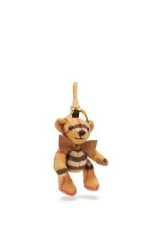 Burberry Thomas Bear Vintage-check cashmere key ring