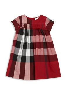 Burberry Toddler Girl's Check Cotton Dress