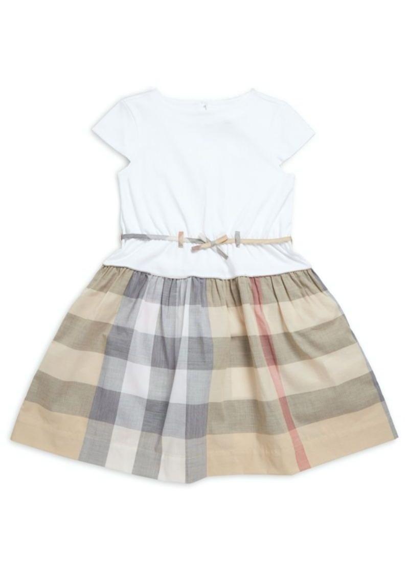 7e6edd70 Burberry Toddler's, Little Girl's & Girl's Rhonda Check Cotton T-Shirt Dress