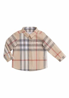 Burberry Trauls Pale Check Shirt