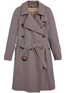 Burberry Tropical asymmetric trench coat - Grey