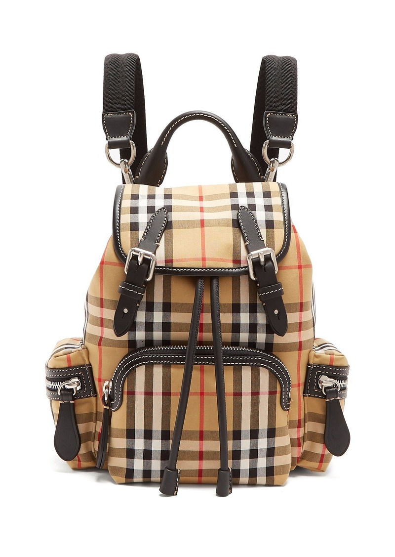 14febe1f70f3 Burberry Burberry Vintage-check small backpack