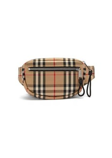 Burberry Vintage-check canvas belt bag