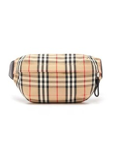 Burberry Vintage check canvas belt bag