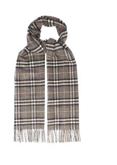 Burberry Vintage-check cashmere scarf