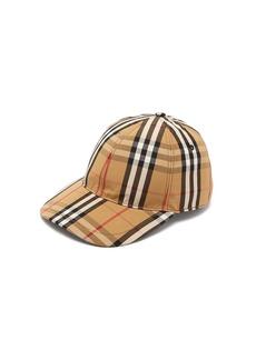 Burberry Vintage check cotton baseball cap