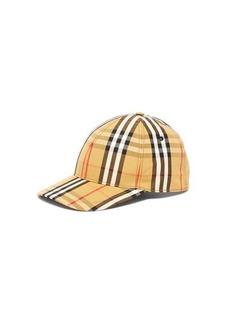 Burberry Vintage-check cotton baseball cap