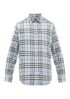 Burberry Vintage check cotton-flannel shirt
