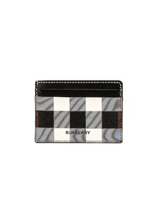 Burberry Vintage Check Leather Cardcase