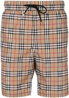 Burberry Vintage check swim shorts - Brown