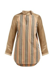Burberry Wallpaper Heritage Stripe cotton blouse
