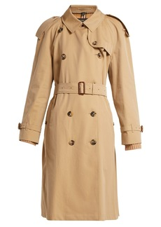 Burberry Westminster double-breasted gabardine trench coat