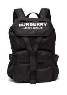 Burberry Wilfin small logo-printed backpack
