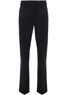 Burberry Woman Stretch-wool Straight-leg Pants Black
