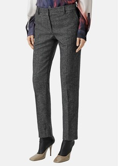 Burberry Women's Mélange Wool-Blend Crop Trousers