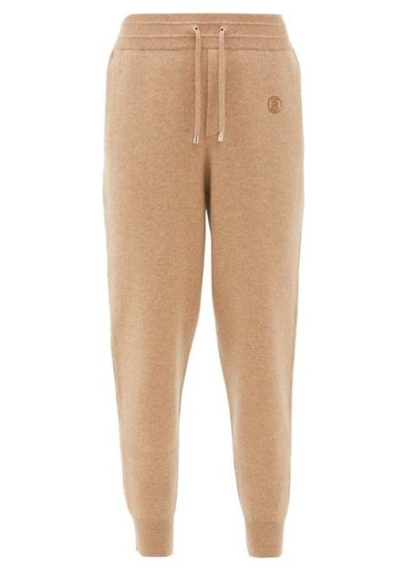 Burberry Yangtze cashmere-blend track pants