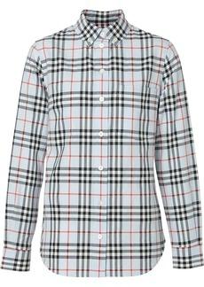 Burberry Button-down Collar Vintage Check Cotton Shirt