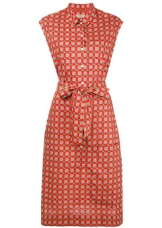 Burberry button-down printed dress