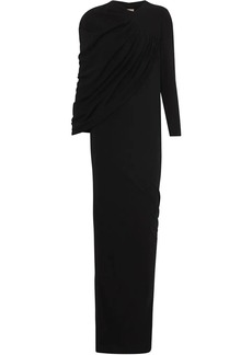 Burberry Cape-sleeve Stretch Jersey Gown