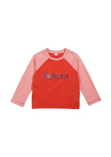 Burberry Caris Logo Baseball Tee