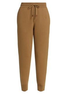 Burberry Cashmere Double Faced Joggers