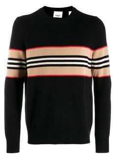 Burberry cashmere Icon stripe jumper