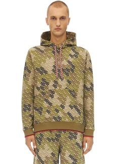 Burberry Casper Camouflage Sweatshirt Hoodie