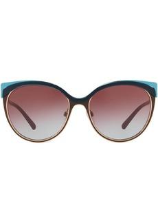 Burberry cat-eye tinted sunglasses