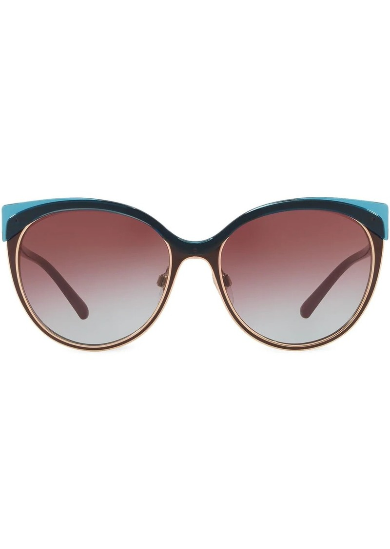 Burberry cat-eye tinted sunglasses