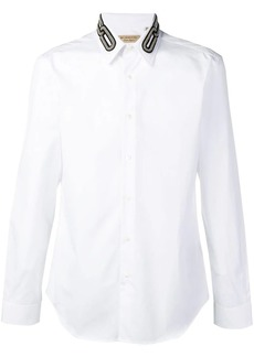 Burberry chain collar shirt