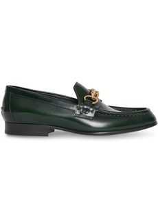 Burberry chain-embellished loafers