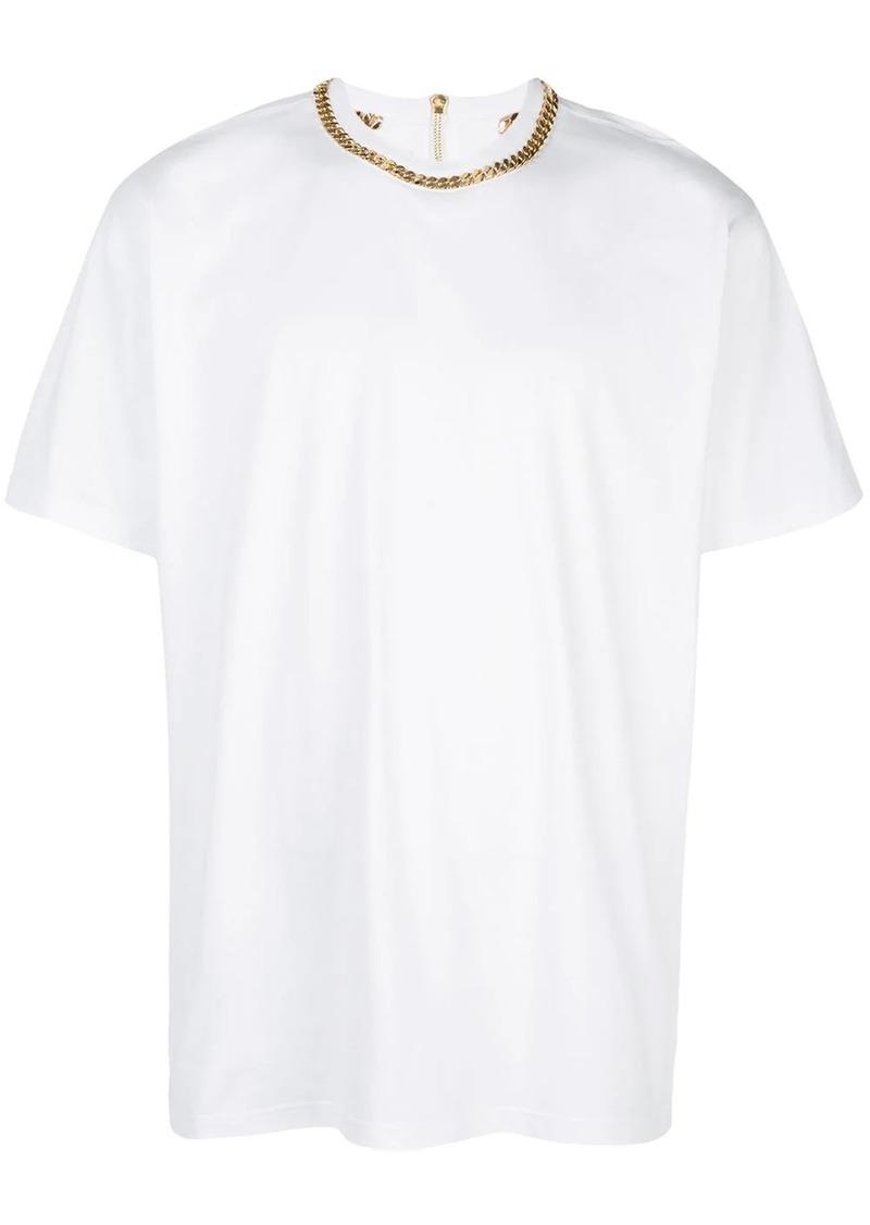 Burberry chain neck T-shirt