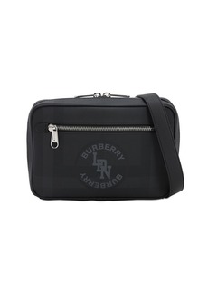 Burberry Check Coated Canvas Atlas Toiletry Bag
