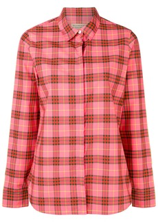 Burberry checked button shirt