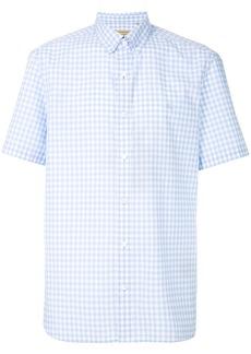 Burberry checked design shirt