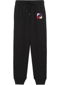Burberry Chequer EKD track pants