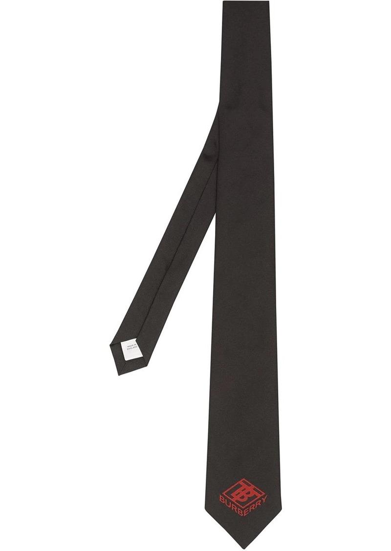 Burberry classic cut logo tie