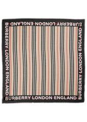 Burberry Cotton Blend & Silk Scarf
