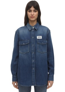Burberry Cotton Denim Shirt