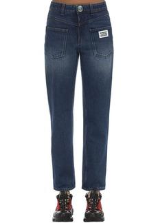 Burberry Cotton Denim Straight Jeans