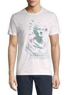Burberry Cotton Graphic T-Shirt