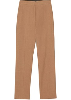 Burberry Cotton Linen Tailored Trousers