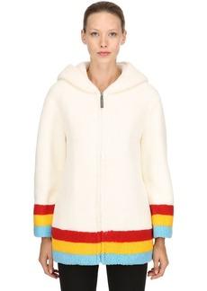 Burberry Craven Hooded Terrycloth Coat