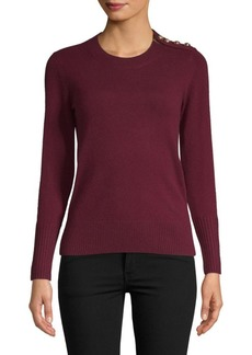Burberry Crewneck Cashmere Sweater