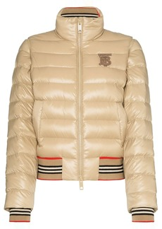Burberry cropped puffer jacket